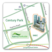 Residences at Kerry Parkside Location